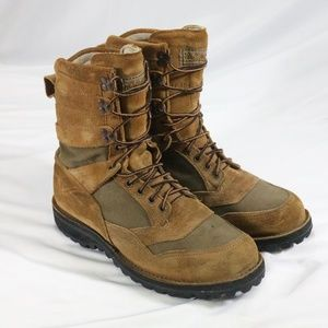 Rare CABELAS x Danner USA Made Suede Boots 11 WIDE